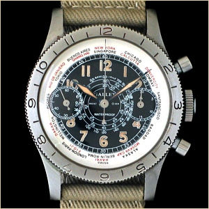 The Original Gallet Flight Officer Chronograph...