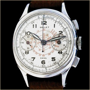 The mid-size Gallet MultiChron Commander chronograph
