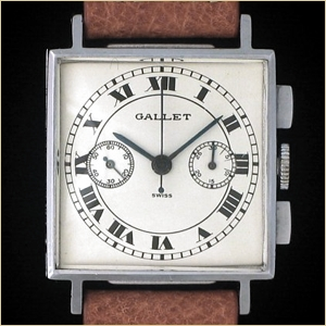 The Gallet MultiChron Officer chronograph
