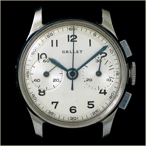 The Gallet MultiChron Petite Chronograph...